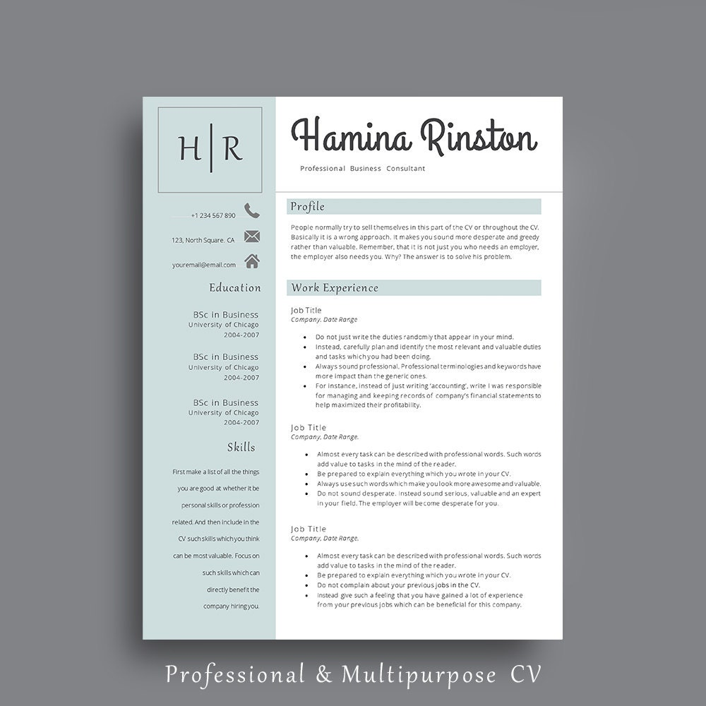 resume template professional resume template impressive cv