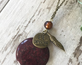 Be Amazing Pendant Necklace