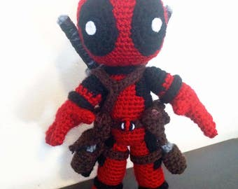 Deadpool Amigurumi