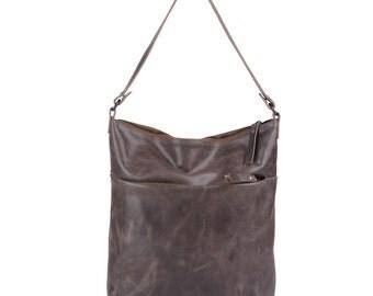 """Leather bag """"Emmanuelle"""" bise shoulder bag shoulder bag"""