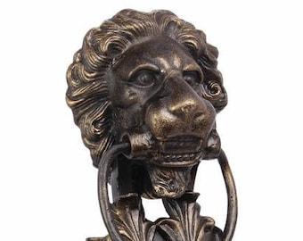 Cast Iron Lion Head Etsy