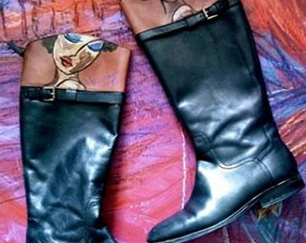 Jazzed Boots (Size 10 1/2)