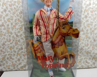 Bert Doll, Mary Poppins, Movie Memorabilia Mattel Barbie Collector