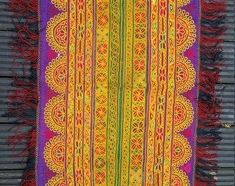 Vintage Pashtun, Saddle Cloth, Vintage Textile,Altar Cloth,Collectors Piece