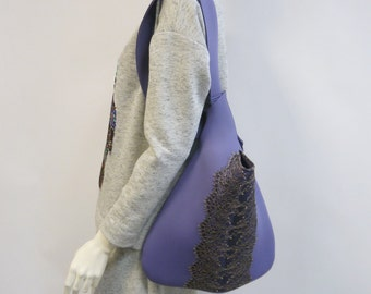 Handbag with lace, Hobo, Purse with lace, top handle bags,Handbag with lace, Hobo, top handle bags, Comfortable bag, Bag for every day