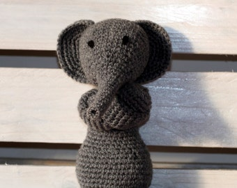 Emilio rebel amigurumi elephant