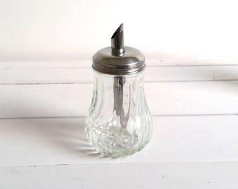 Vintage glass sugar castor (4)