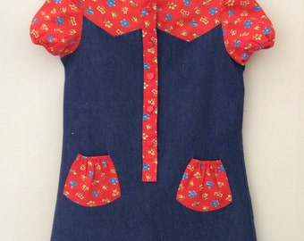 Girl's Denim dress