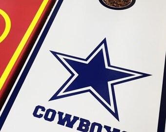 Dallas Cowboys Cornhole Set With Bags
