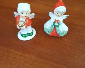 Vintage Napco Christmas Angels