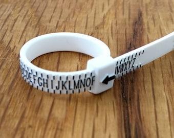 Ring sizer, UK, Ring size gauge, Measure Ring size, UK Ring size measurer, Ring size, Find Ring Size