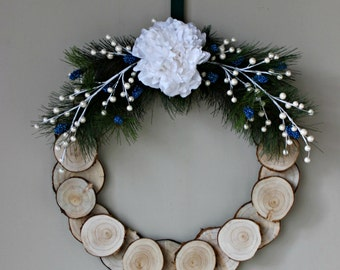 Winter Wood Wreath