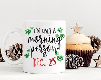 Christmas Mug, Christmas Coffee Mug, Holiday Mug, Funny Christmas Mug, Funny Christmas Mug, Secret Santa Gift, Stocking Stuffer, AAA_001