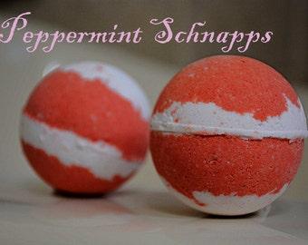 PEPPERMINT SCHNAPPS Bath Bomb