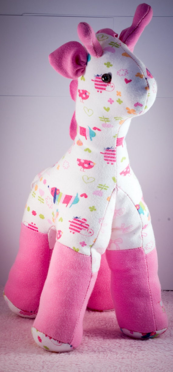 Gianna the giraffe made out of your babygro or clothing