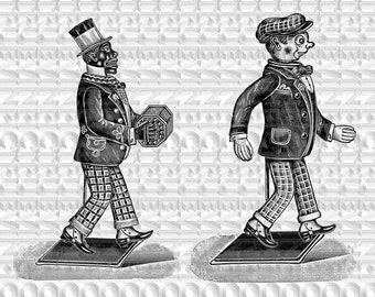 instant download,victorian toy,clipart,tiny toy,victorian doll, scrapbooking,collage sheet,vintage picture,black and white,clipart, diy
