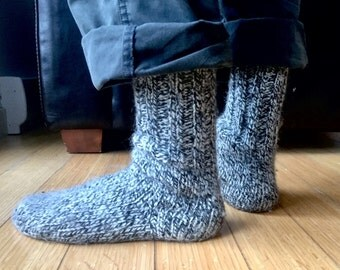 Thick Wool Socks handmade in Iceland