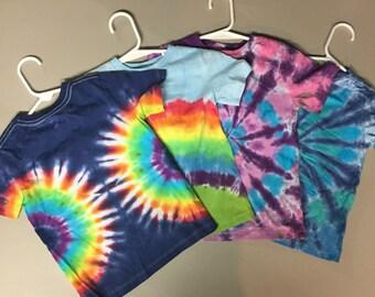 TIe Dye Toddler Tshirts, Assorted Designs