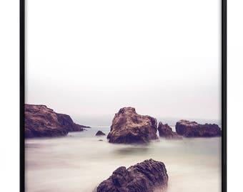 Misty Sea, Poster