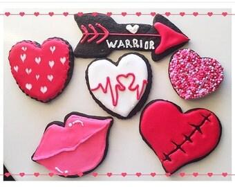Heart Warrior Cookies