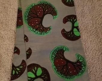 Ankara print. Wax. African fabric.