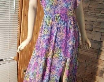 80s summer dress