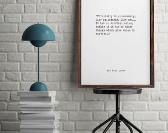 C.S. Lewis,Book Quotes, Wall Art, Home Decor, Inspiring Quotes, Vintage Art, Minimalist Art, Typographic Art,  Literary Art, Library Art