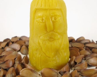 beeswax candle grandfather