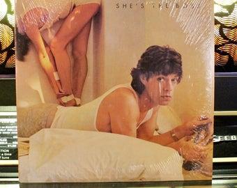 Mick Jagger - She's The Boss: Rare Vinyl Record - Rolling Stones On Vinyl - Great Gift!