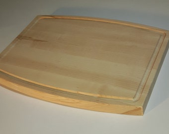 Maple Cutting Board with juice groove