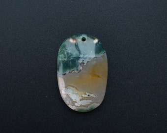 Green brown white ocean stone ,ocean jasper