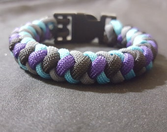 how to make a round braid paracord bracelet