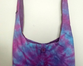 Tie Dye a cross body bag