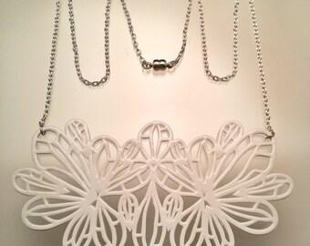 Hive Necklace / Shrinky Dink Necklace