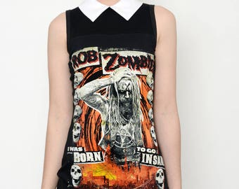 Rob Zombie Altered Tee Collar Dress