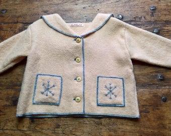 Cream Coat, pure wool