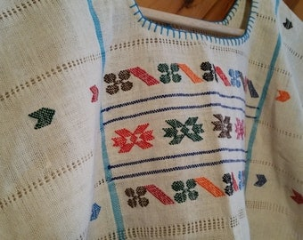 Oaxaca hand-embroidery blouse