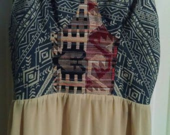 "Boho Summer Dress ""festival"" look size Small"