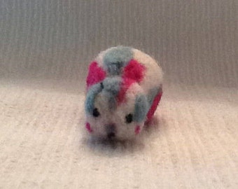Funky Felted Guinea Pig