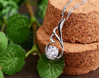 sterling silver pendant charm for necklace