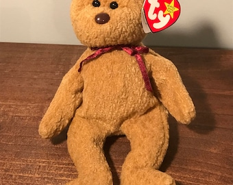 TY Beanie Babies - Curly (Mint Condition)