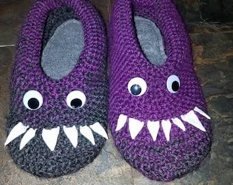 Monster Slippers & Hat