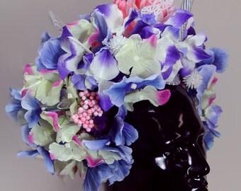 Cap hydrangea flowers Unicorn