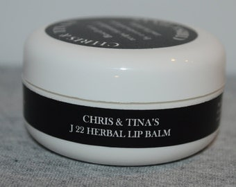 Chris&Tina J22 herbal lip balm