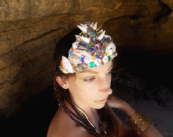 Mermaid Crown with Magical Jewels