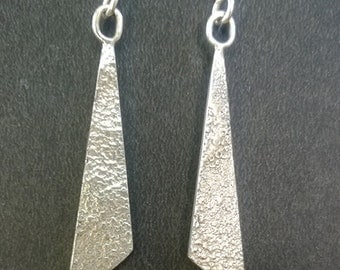 Geomético earring in 925 Silver