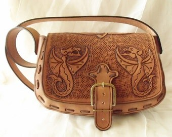 """Leather case """"Protection Dragon"""""""