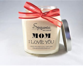 Mom Birthday Gift | Mom From Daughter | Candles For Mom | Birthday For Mom | Personalized Candles | Custom Candle | Mom Gift | Gifts For Mom