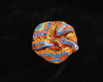 Brooch 6 (handcrafted & hand-painted)