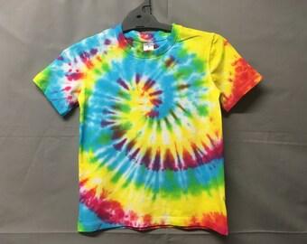 Boys size 7-10 tie dye top